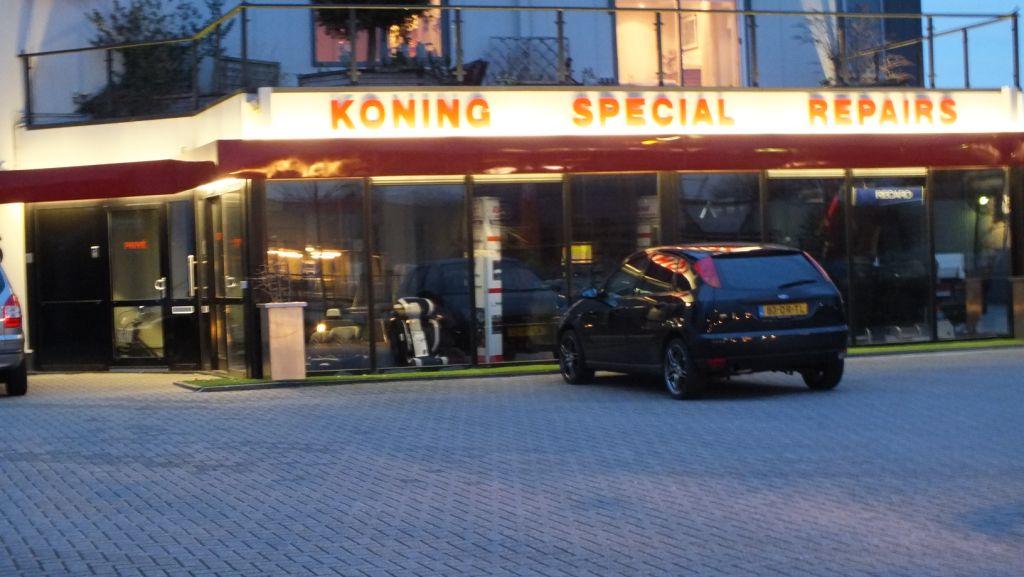 Led verlichting buiten een bedrijfspand ledverlichting van jp